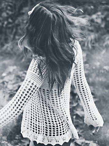 Free People Annabelle Crochet Pullover at Free People Clothing Boutique