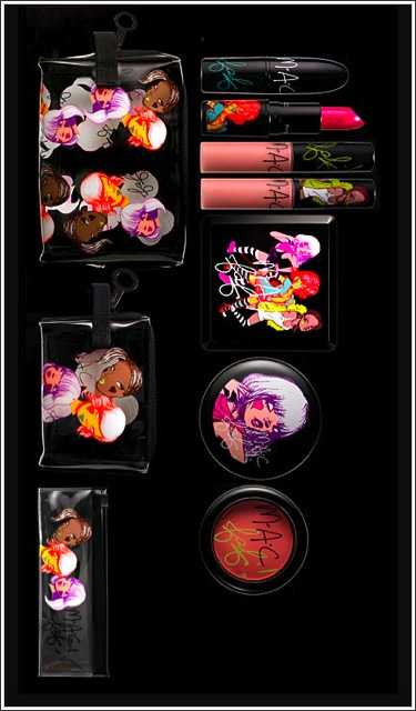 MAC Cosmetics - Fafi For MAC (Fafi x MAC) Additional Photos Leaked by TheCarmineVault