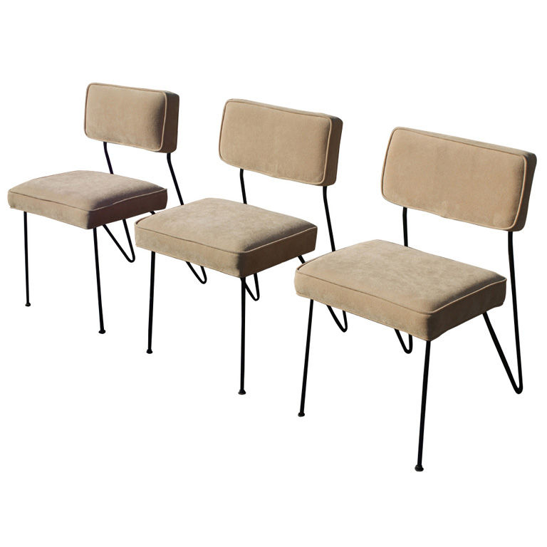 Metro Retro Furniture / MCM Furniture - Dorothy Schindele - Three Dorothy Schindele Dining Side Chairs