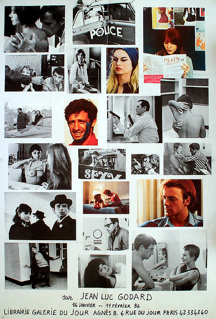 Jean-Luc Godard Agnes B. exhibition poster   Flickr - Photo Sharing!