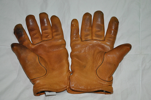It's Worn - Red Wing gloves 2 years old via...