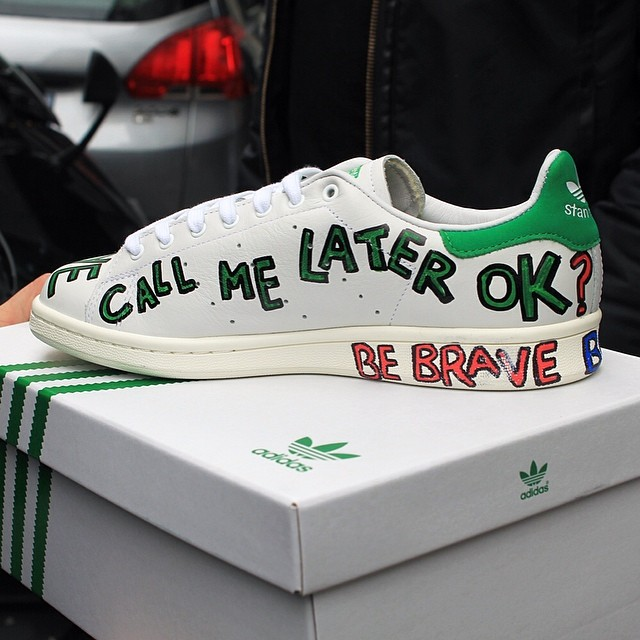 adidas Stan Smiths Customized by Pharrell Williams |colette
