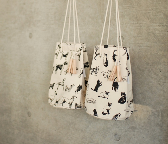 TEMBEA GAME POUCH dog&cat。 : dogdeco HOME | ドッグデコ ホーム 犬と暮らす家の日記
