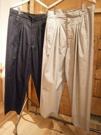 Ultrawidepleated pants