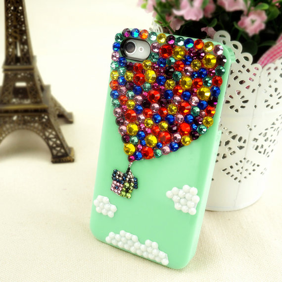 Up iPhone Case Bling Sumsung Galaxy S2S3S4 by BlingRhinestoneCase
