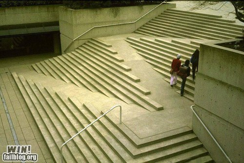 WIN!: Stair Design WIN - EPIC FAIL Funny Videos and Epic Fail Funny Pictures