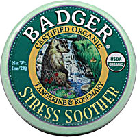 Badger Organic Stress Soother -- 1 oz - Vitacost