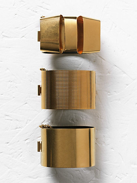 CÉLINE fashion and luxury accessories: 2012 Fall collection - Bracelets - 2