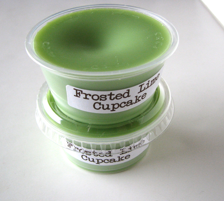Frosted Lime Cupcake Scented Soy Wax Melt 2 Pack   Luulla