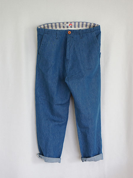 【ACTS】EASY DENIM PANTS (bleach) - BLDG - HOSU・ACTSのオフィシャルWEBショップ