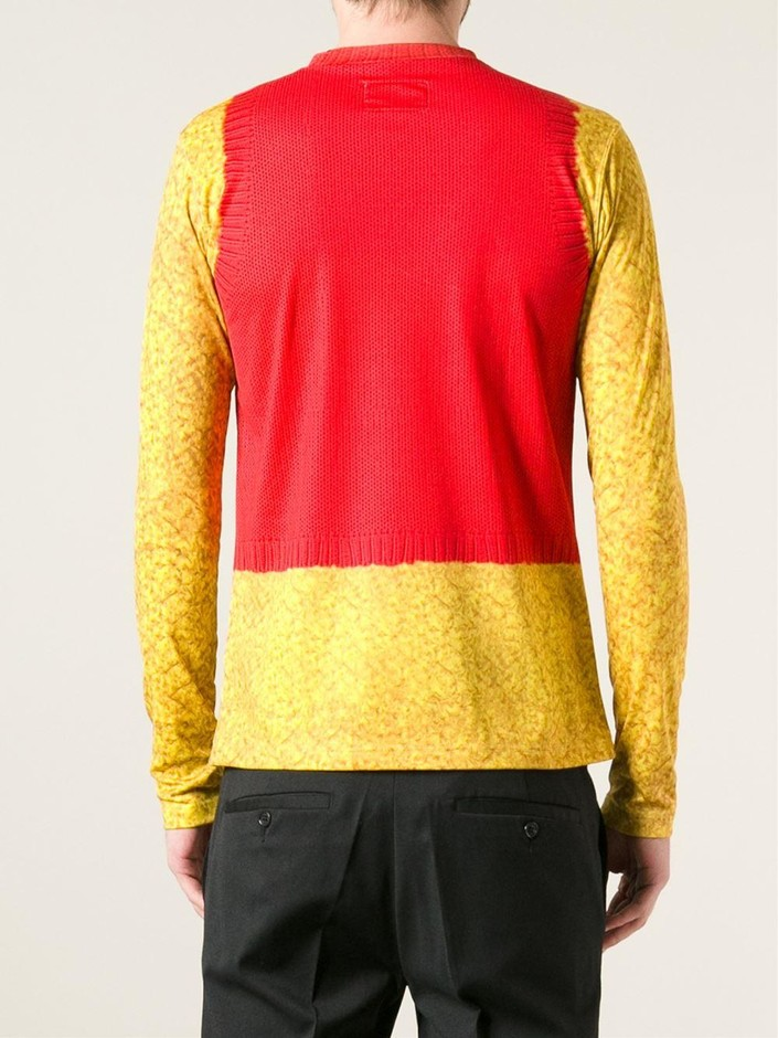 Walter Van Beirendonck Vintage W Trompe L'oeil トップス - House Of Liza - Farfetch.com