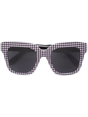 houndsthooth check sunglasses