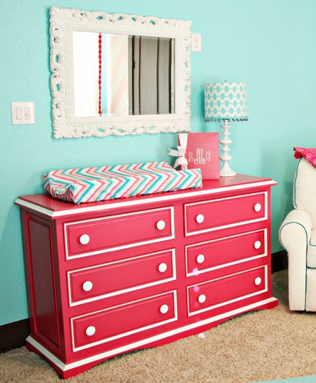 Taylor Six Drawer Scalloped Dresser by Newport Cottages, Dressers, Furniture for Children