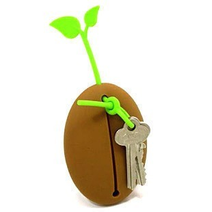 Coffee Bean Silicone Key Holder - Creative Gifts - Home & Office - FeelGift