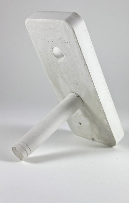 Concrete iphone 5 Dock. Docking Station for by Zeitgeistfactory