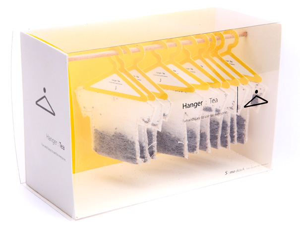 Hanger Tea – Teabags Packaging by Soon Mo Kang » Yanko Design