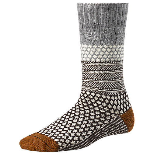 Popcorn Cable - Socks - Women's