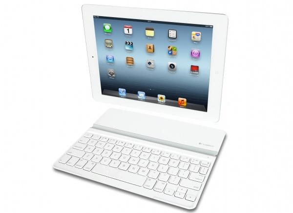 Logitech debuts white Ultrathin Keyboard Cover for iPad, arriving before month's end for $100 -- Engadget