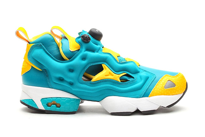 Reebok Pump Fury Teal Gem/Nuclear Yellow | Hypebeast
