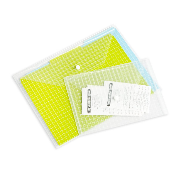 Clear Envelopes | The Container Store