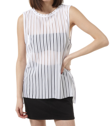【MOUSSY/マウジー】CUT OFF STRIPE TOPS シェルター公式通販サイト SHEL'TTER WEB STORE