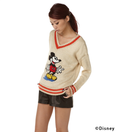 【moussy/マウジー】▽◇MICKEY POK|シェルター公式通販サイト|SHEL'TTER WEB STORE