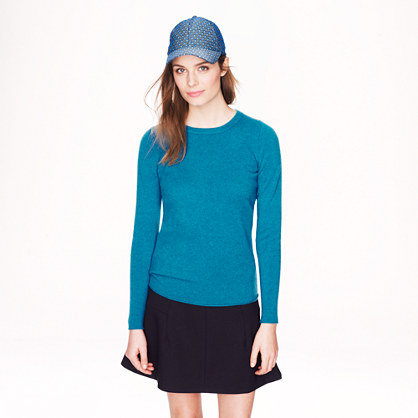 Collection cashmere long-sleeve tee - Cashmere - Women's new arrivals - J.Crew