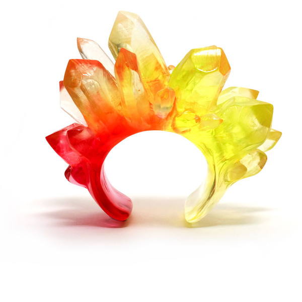 Edition X — Mega Crystal Cuff (Citrus)