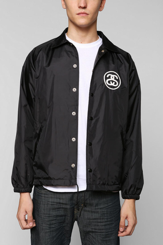 Stussy Croc Coaches Jacket - Urban Outfitters
