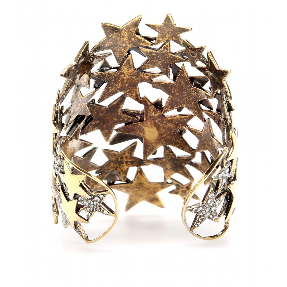 mytheresa.com - Emilio Pucci - CRYSTAL EMBELLISHED METAL STAR CUFF - Luxury Fashion for Women / Designer clothing, shoes, bags