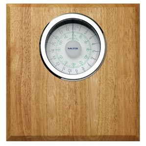 Salter Bathroom Scale- Rubberwood Bathroom Scale - review, compare prices, buy online