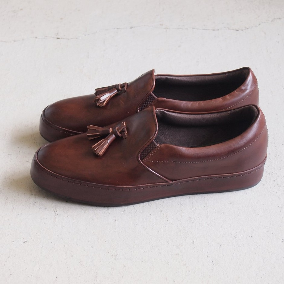 Hender scheme - dress slip on #d.brown