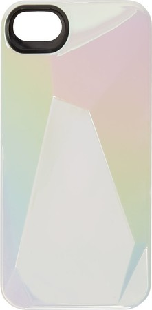 Marc by Marc Jacobs White Iridescent Faceted iphone 5 Case