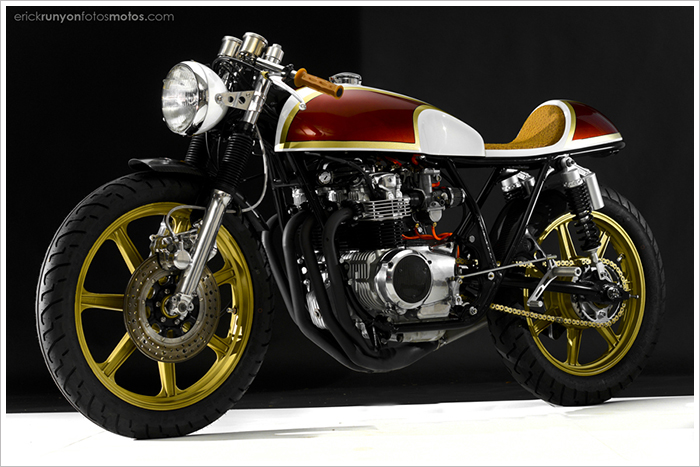1974 Honda CB550K 'Lucy' by Hot SakeCycles - Pipeburn - Purveyors of Classic Motorcycles, Cafe Racers & Custom motorbikes