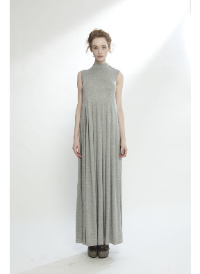 LH LIBERTINE DRESS W CROSSOVER GREY MARL - LONELY HEARTS W12 : BRANDS LONELY HEARTS : AREA 51