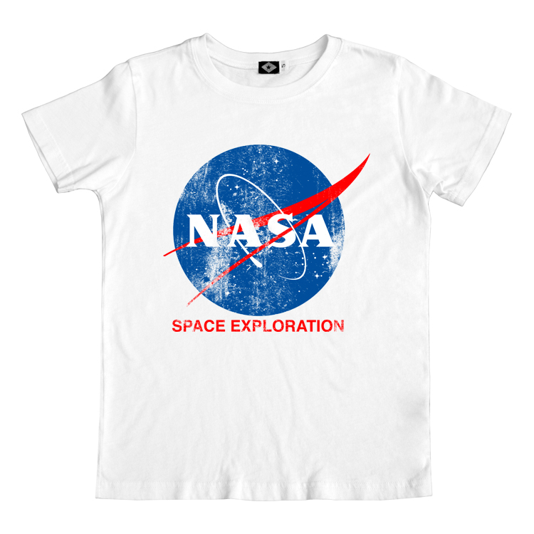Men's Official NASA Tee (White)