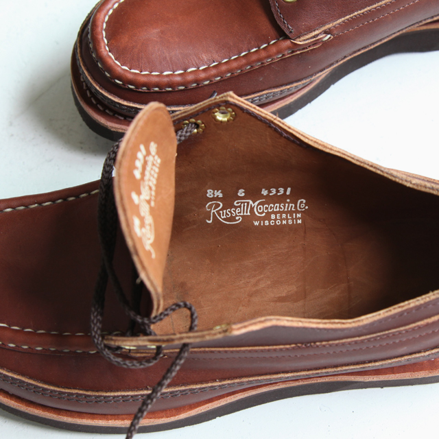 Russell Moccasin Orneida - Triple Vamp - Silver and Gold Online Store