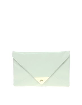 ASOS | ASOS Pyramid Metal Tip Clutch at ASOS