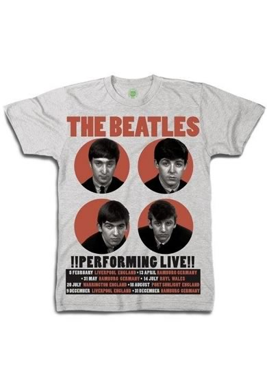 【Apple】THE BEATLES(ビートルズ) PerformingLive Tシャツ