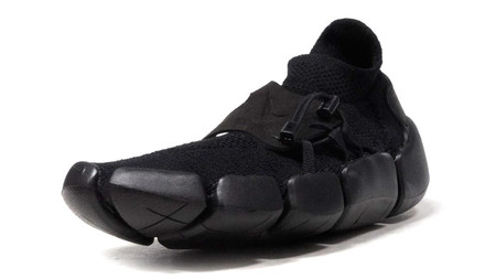 Footscape Flyknit DM - Black/Black