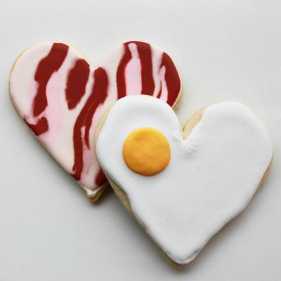 Whipped Bakeshop Philadelphia: You're the Bacon to My Eggs Valentine Gift Box   Whipped Bakeshop