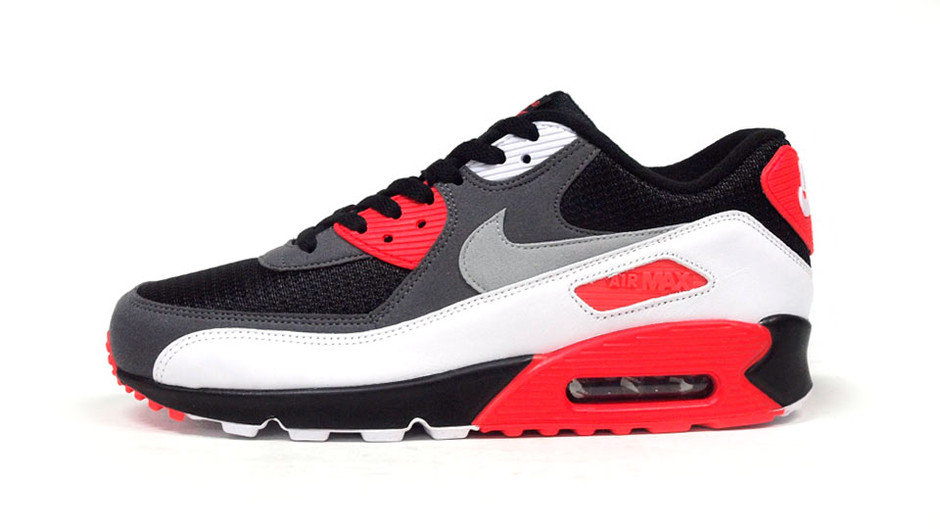 """AIR MAX 90 OG """"LIMITED EDITION for ICONS"""" BLK/GRY/RED/WHT ナイキ NIKE 