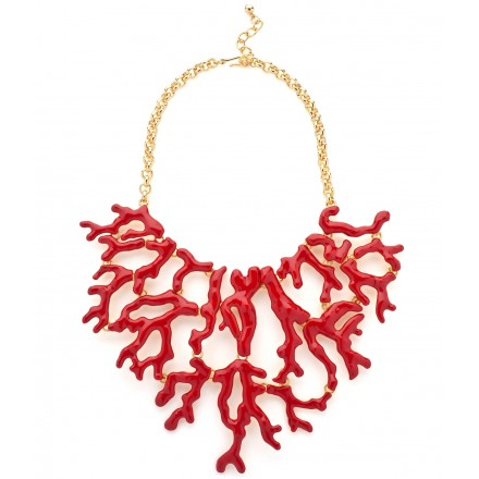 Red Coral Necklace by Kenneth Jay Lane, Designer Jewellery Jewellery, Kabiri Jewellery Store Online
