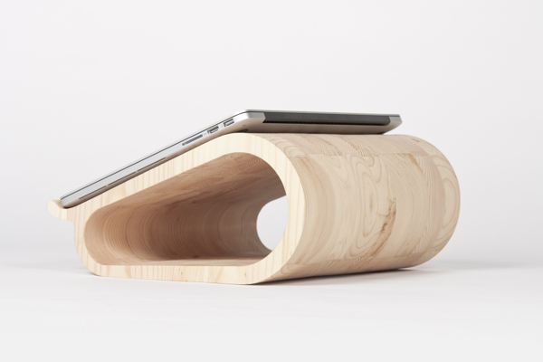 Vool. The Wooden Laptop Stand.