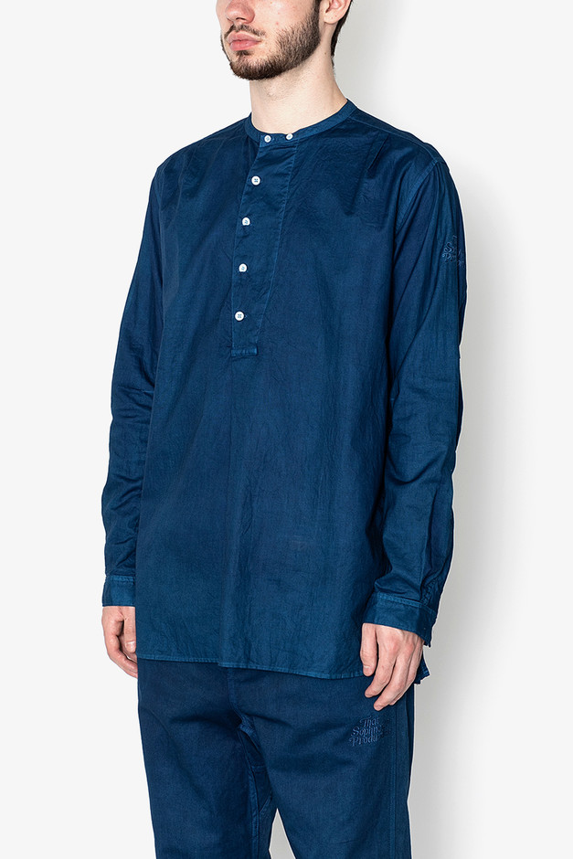 SOPHNET. × nonnative SCIENTIST PULLOVER LONG SHIRT COTTON OXFORD OVERDYED | LONG SLEEVE SHIRTS | COVERCHORD