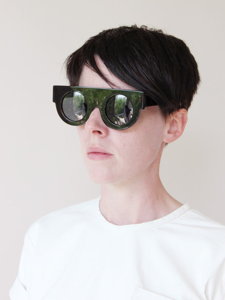SSWTR No. 16 Basic Circle Sunglasses - Tortoise « Pour Porter
