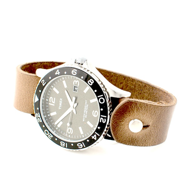 Timex Leather Huckberry sale discount promotion code coupon   fashionstealer