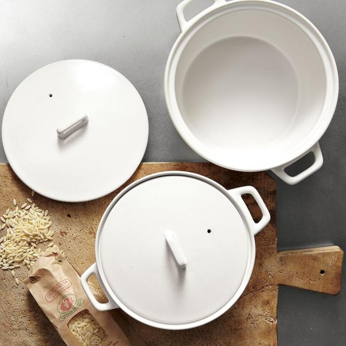 High/Low Japanese-Inspired Ceramic Casserole : Remodelista