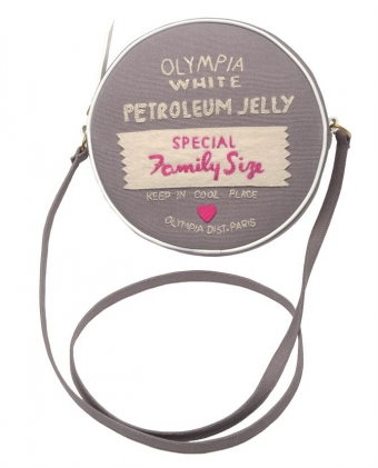 【LASO ラソ】:円高還元:12/SS:new:▼Olympia Le Tan▼'Petroleum Jelly' handmade shoulder bag オリンピア・ル・タン