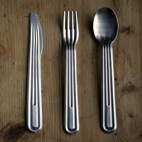 Dezeen » Blog Archive » Stamp Cutlery by Tomás Alonso for Italesse